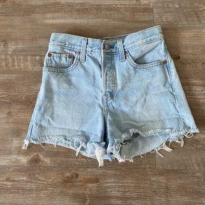 Levi's jean shorts 24